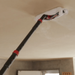 steam cleaner on ceilings